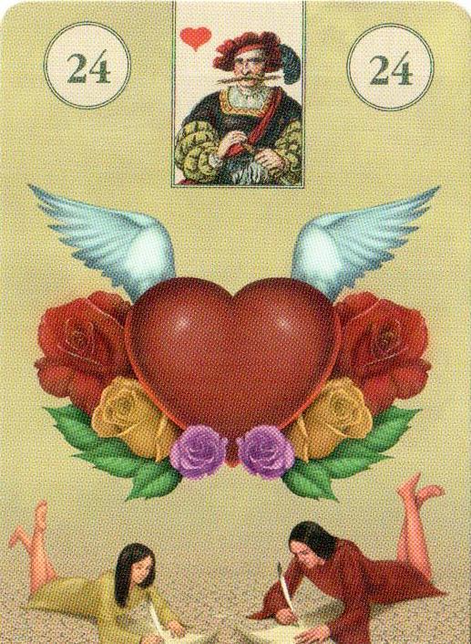 Карты таро от сердца к сердцу